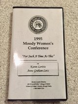 1995 Moody Women's Conference (3 cassette tapes) in Glendale Heights, Illinois