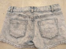 Juniors Pair of Distressed Shory Jean Shorts Size 7 in Fort Bragg, North Carolina