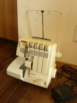 White Serger in Okinawa, Japan