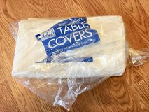 White 3 ply tissue Premium Table covers in St. Charles, Illinois