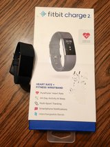 Fitbit Charge 2 w/additional Silver Band in Wheaton, Illinois
