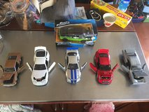 FAst & furious die cast model cars 5 + 1 Ford pony in Okinawa, Japan