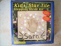 kids star tile make a hand print in Stuttgart, GE