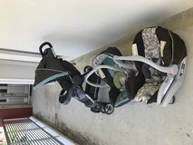 2 baby car seats and stroller in Okinawa, Japan
