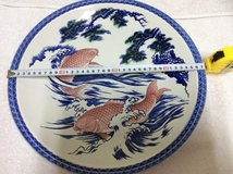 REDUCED! VINTAGE Hand made,decorative plate in Okinawa, Japan
