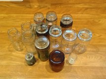 Project glass jars in Beaufort, South Carolina
