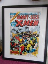 REDUCED Large Marvel X-Men Framed Picture in Lakenheath, UK