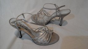 Silver beaded dress shoes in Elgin, Illinois