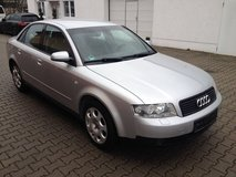 Audi A4 Sedan V6 AUTOMATIC A/C Leather Heated Seats Multimedia Stereo New Service New TÜV!! in Ramstein, Germany