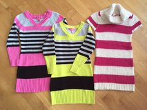 Girls Knit Tunic Sweaters Tops Sizes 7/8, Sizes Small and Medium, NICE!! in Oswego, Illinois