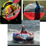 3 towable floats barely used in Warner Robins, Georgia