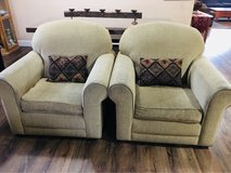 (2) matching Armchairs in Vacaville, California
