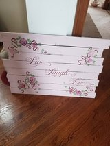 Barnwood painted sign in Peoria, Illinois
