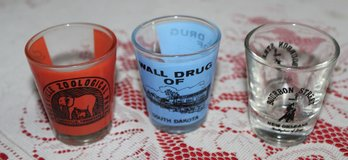 Shot glasses in Fort Campbell, Kentucky