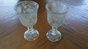 Avon 1978 Clear Heart Goblets in Houston, Texas