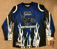 NWT! Zero Exposure Motorcross Racing Jersey Boys L 14-16 in Orland Park, Illinois