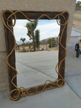 Large Rustic Western Mirror in Yucca Valley, California