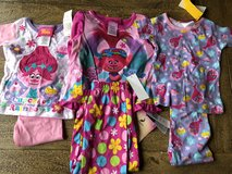 Trolls Pajamas (3) Size 2T NWT in Fort Campbell, Kentucky