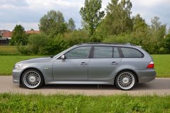 500 HP, 520 ft lbs torque, 310 kph/193mph BMW Alpina B5 in Ansbach, Germany