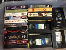 Sony VHS Player and 25 VHS Tapes in Fort Knox, Kentucky
