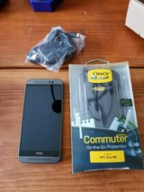 Sprint HTC ONE M9 32 GB with new Otterbox in Naperville, Illinois
