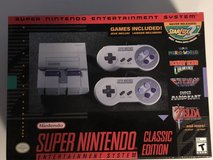 New Super Nintendo Entertainment System Classic Edition in Fort Knox, Kentucky