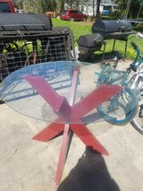 Patio glass table in Baytown, Texas
