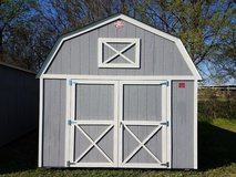 Pre-owned 12x16 Lofted Barn Storage Shed - PRICE REDUCED FROM $4500.00 in Brenham, Texas
