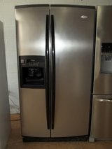 WHIRLPOOL GOLD SIDE BY SIDE REFRIGERATOR in Lumberton, North Carolina