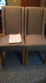 Brody Dining Chairs ( Grey ( in Columbus, Ohio