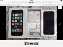 Apple iPhone 5s, 64gb Factory Unlocked Space Gray in Wiesbaden, GE