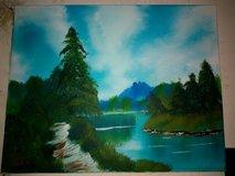 landscape oil painting in Glendale Heights, Illinois