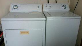 Whirlpool Washer and Electric Dryer in Okinawa, Japan