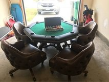poker table in Camp Pendleton, California