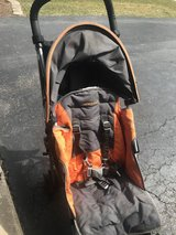 Maclaren Stroller -- includes rain cover and cup holder in Aurora, Illinois