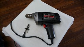 "Craftsman 3/8"" Variable Speed Reversible Drill w/ chuck key in Okinawa, Japan"