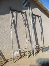 ^^^  Scaffolding  ^^^ in Yucca Valley, California