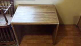 Wood table/desk in Fort Riley, Kansas