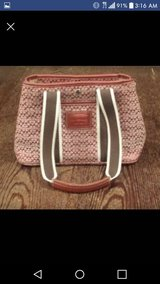 Authentic Red Coach Purse in Glendale Heights, Illinois