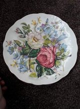 flower wall plate in Lakenheath, UK
