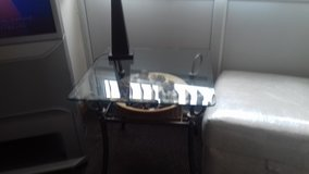 Glass side tables x2 in Lakenheath, UK