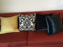 Room and Board decor throw pillows, down cushion inserts in Schaumburg, Illinois