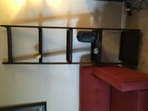 Room and Board ladder TWO bookshelves in walnut stain in Schaumburg, Illinois
