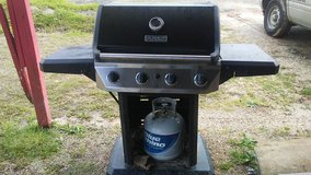 Gas Grill with Tank in Leesville, Louisiana