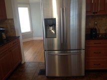 Samsung 25 cu/ft refridgerator (model # RF263BEAESR/AA) in Tampa, Florida