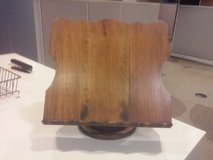 Wooden Book Easel Stand Holder Antique Vintage Read Bible Dictionary Table Desk in Naperville, Illinois