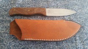 Condor Bushlore Camp Knife with custom canvas Micarta scales in Camp Lejeune, North Carolina