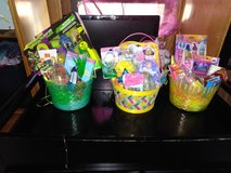 Easter baskets in Fort Benning, Georgia