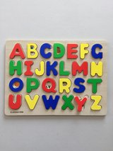 Wood Alphabet Puzzle Complete Set in Manhattan, Kansas