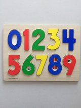 10 Piece Numbers Wood Puzzle in Manhattan, Kansas